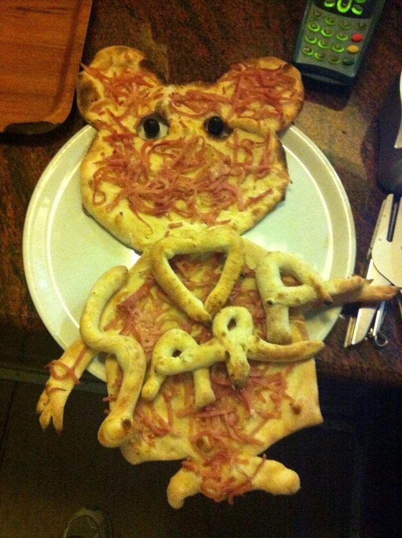 pizza personalizzata