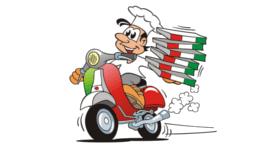 pizza a domicilio, pizza salmone, pizza mozzarella di bufala