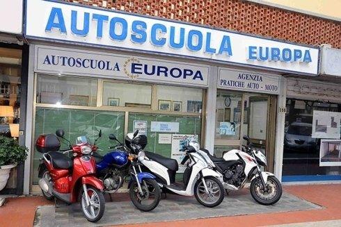 motoveicoli per lezioni pratiche