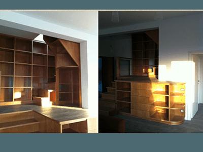 Realizzazioni mobili in legno