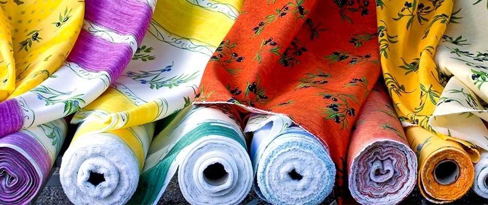 commercio tessuti a stock