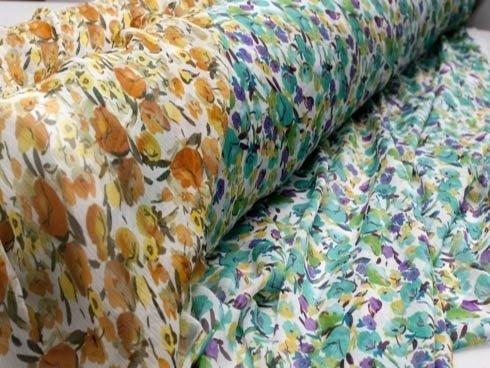 Verkauf von Textilien