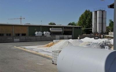 area stoccaggio alluminio