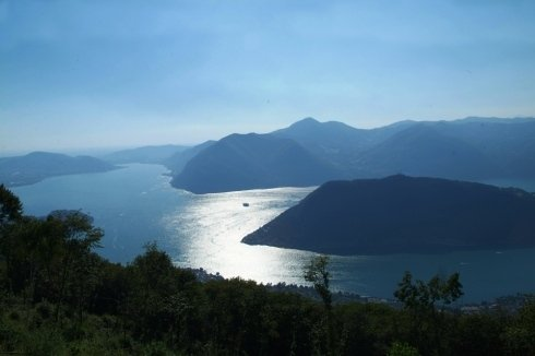 panorama lago d'Iseo