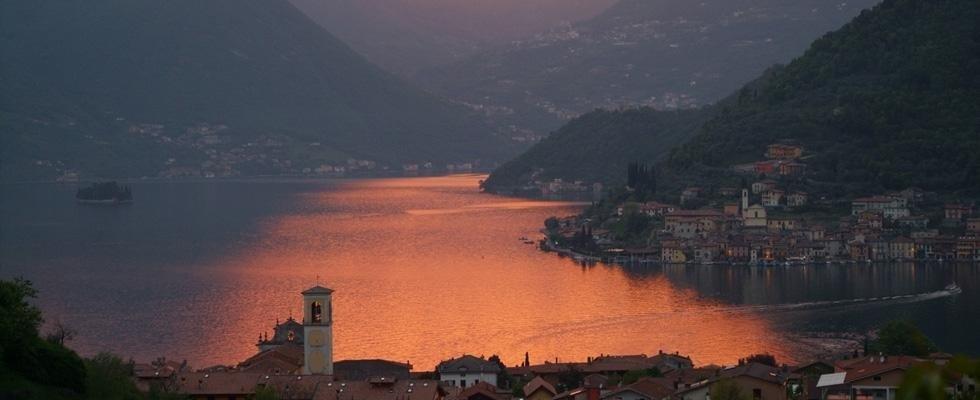 tramonti sul lago