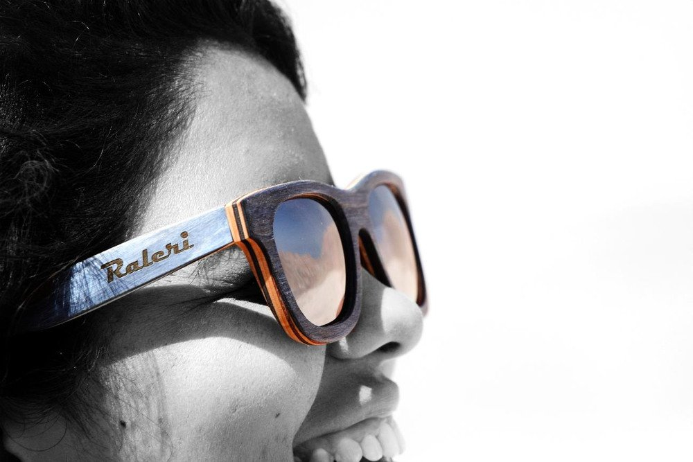 occhiale legno raleri