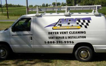 Dryer Vent Cleaning Van