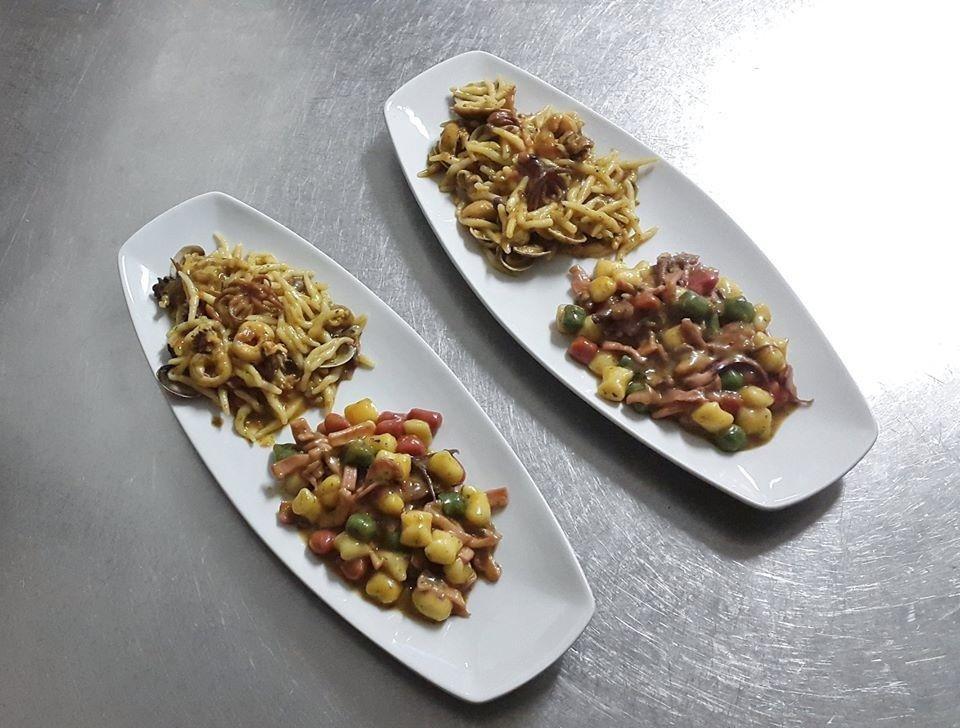 piatti di pesce e verdure