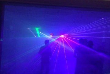 Audio and lighting installation