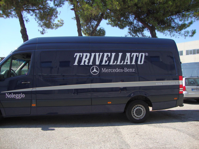 furgone a marchio TRIVELLATO