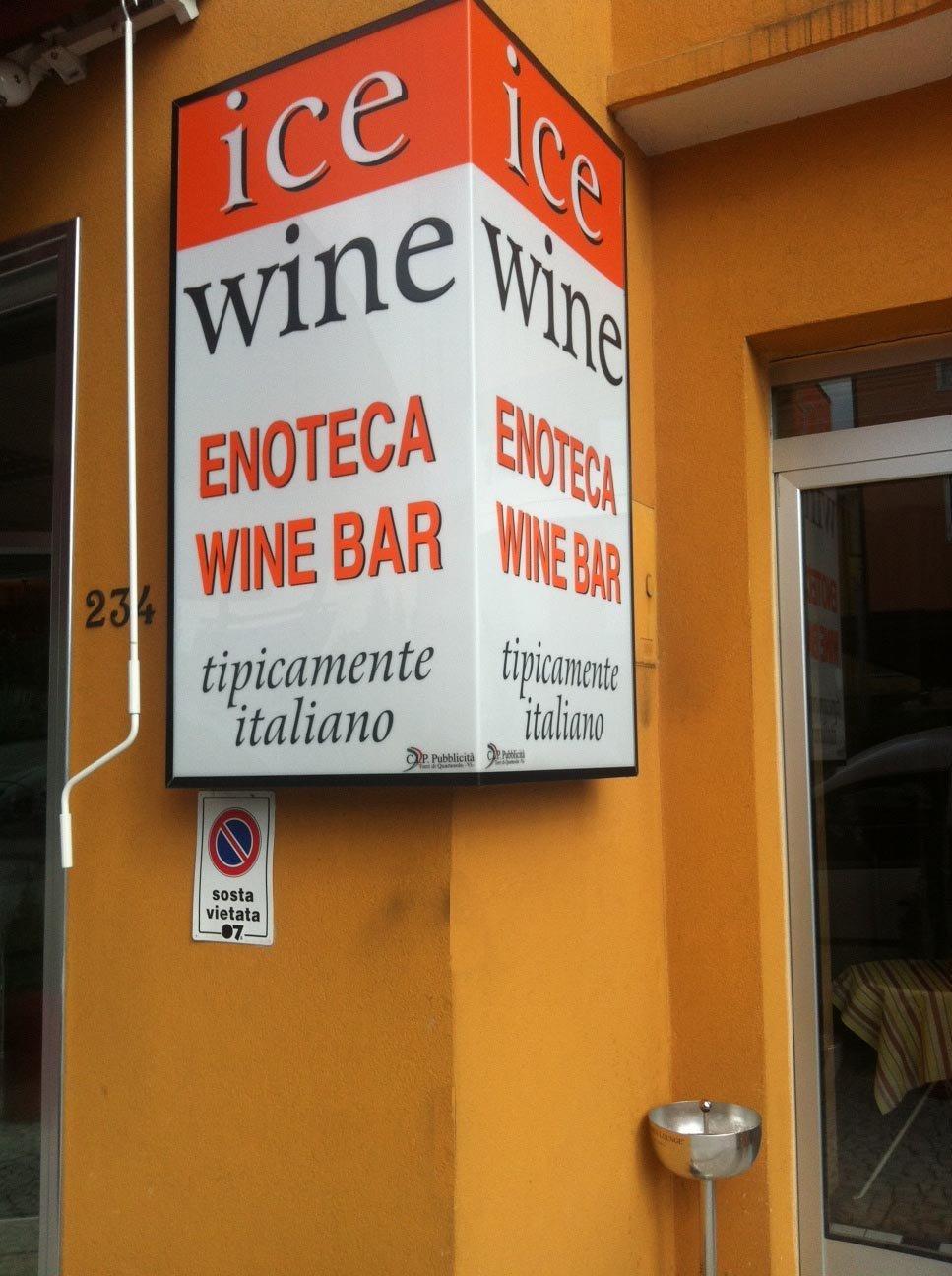 Insegna ENOTECA WINE BAR