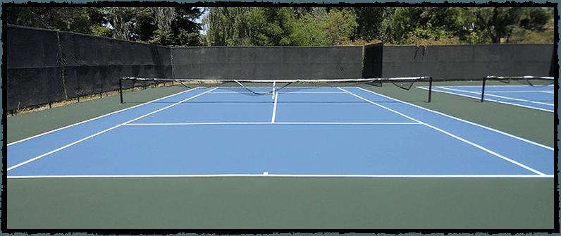 Tennis Court Construction Hillsborough, CA