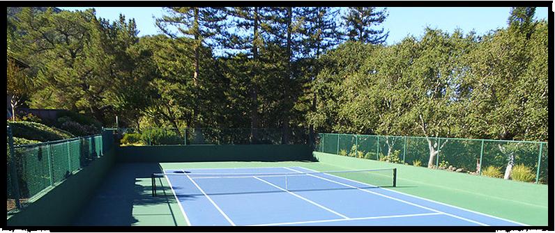 Tennis Court Construction Lafayette, CA