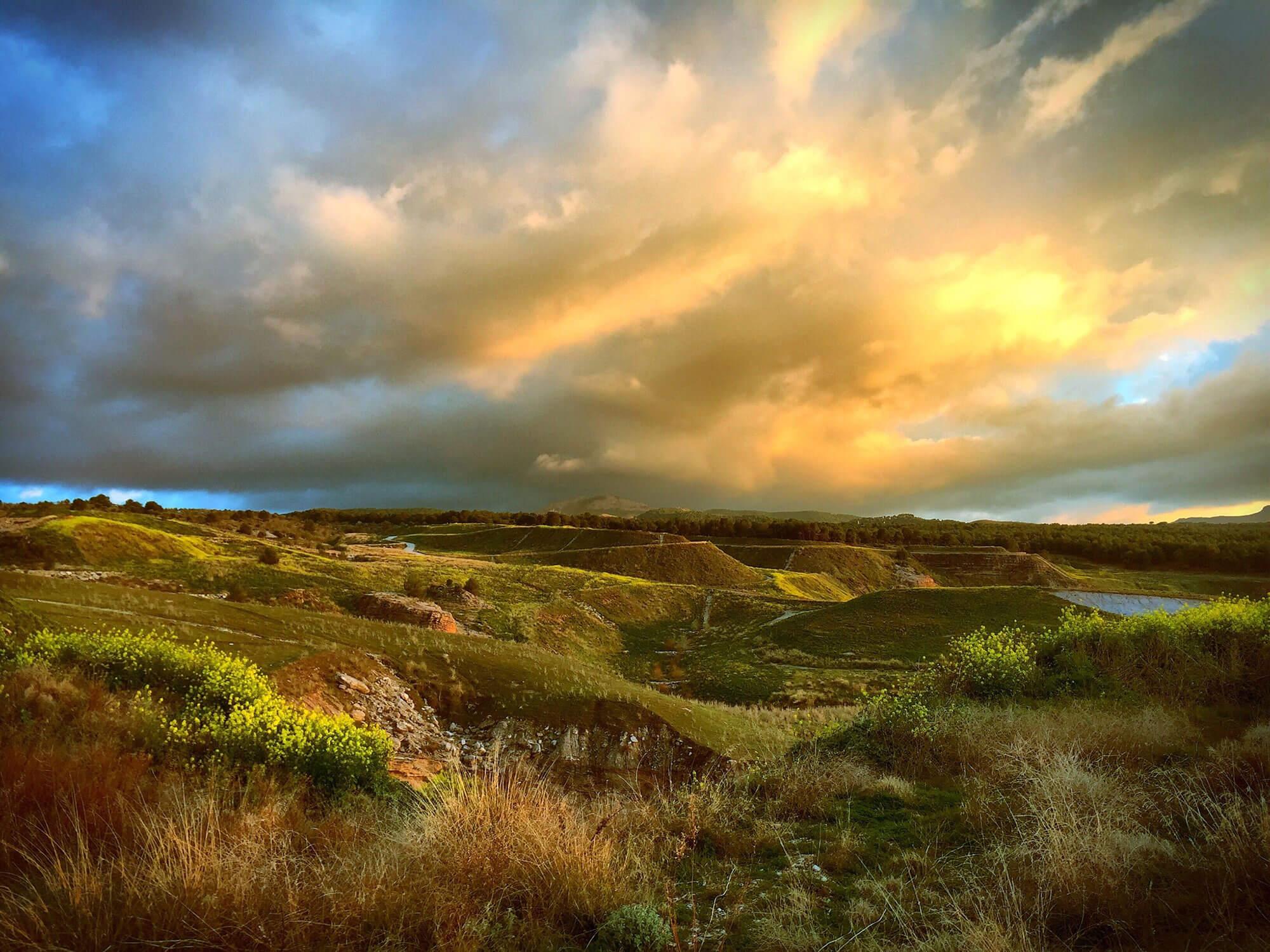 attractive landscape