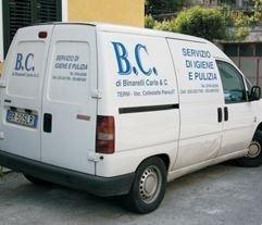 impresa di pulizie B.C.