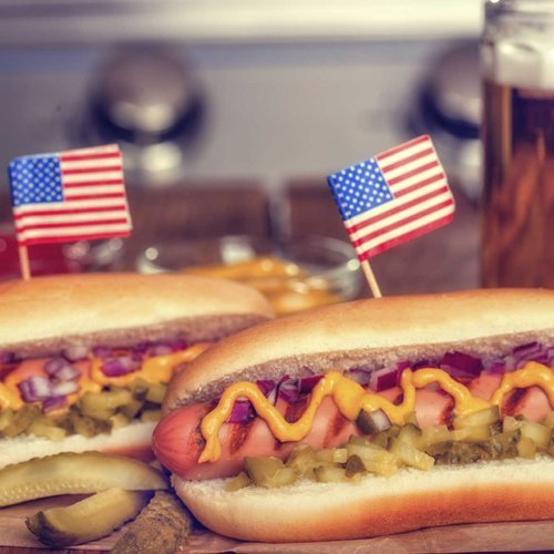 hot dog americani