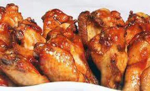 alette di pollo fritte e piccanti