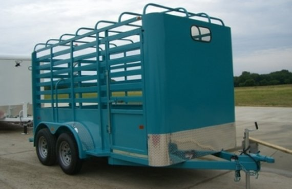 Bow Top Stock Trailer