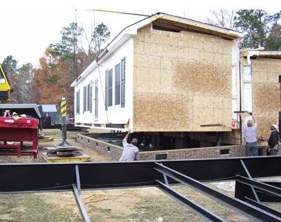modular home builder Laurinburg, NC