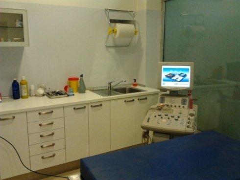 sala operatoria di un veterinario