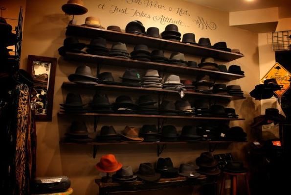 Our selection of men's hats