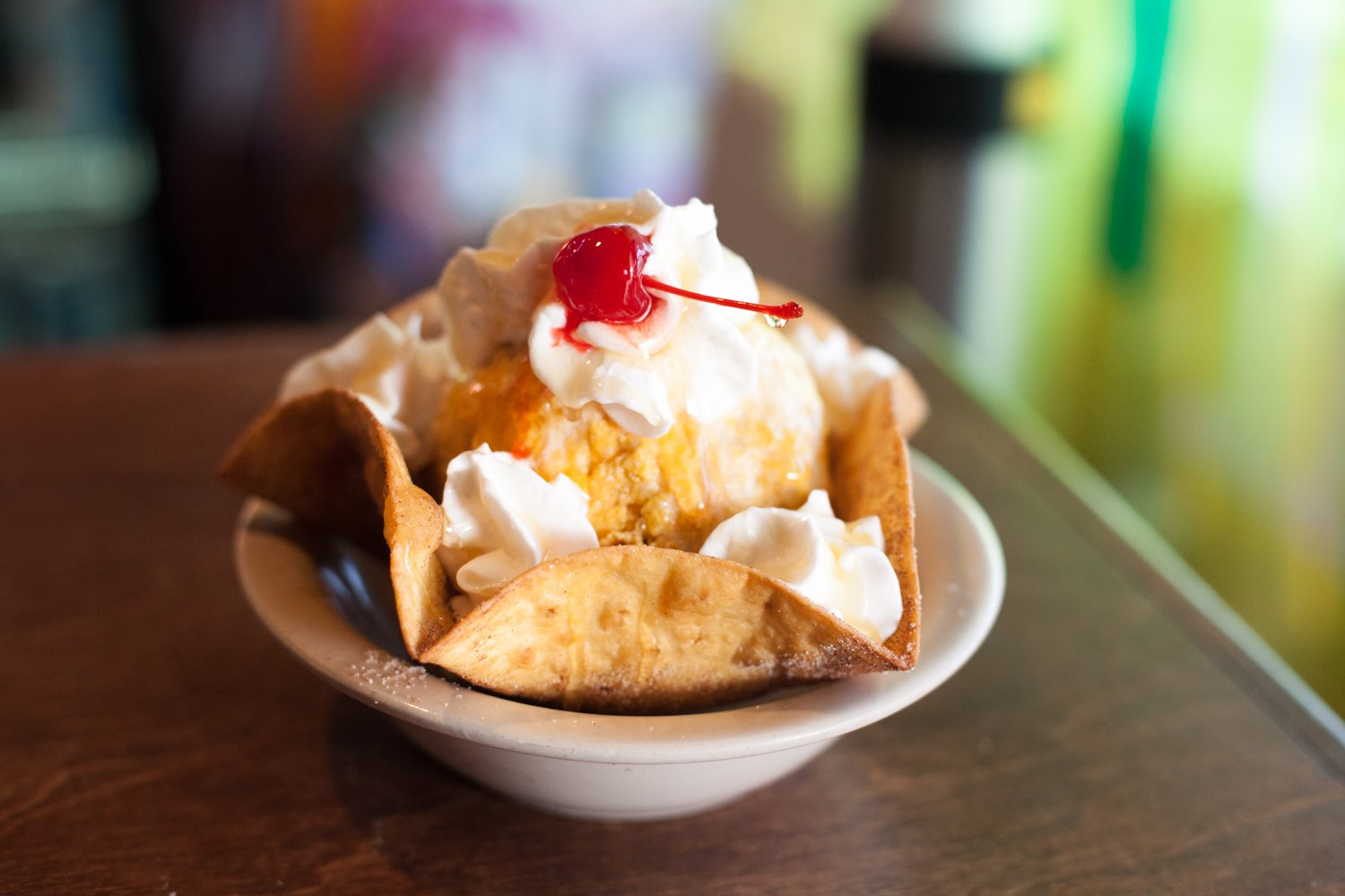 Cozumel Grill Mexican Restaurant fried ice cream