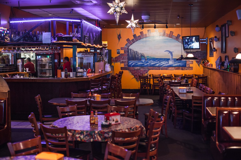 Cozumel Grill Mexican Restaurant bar area