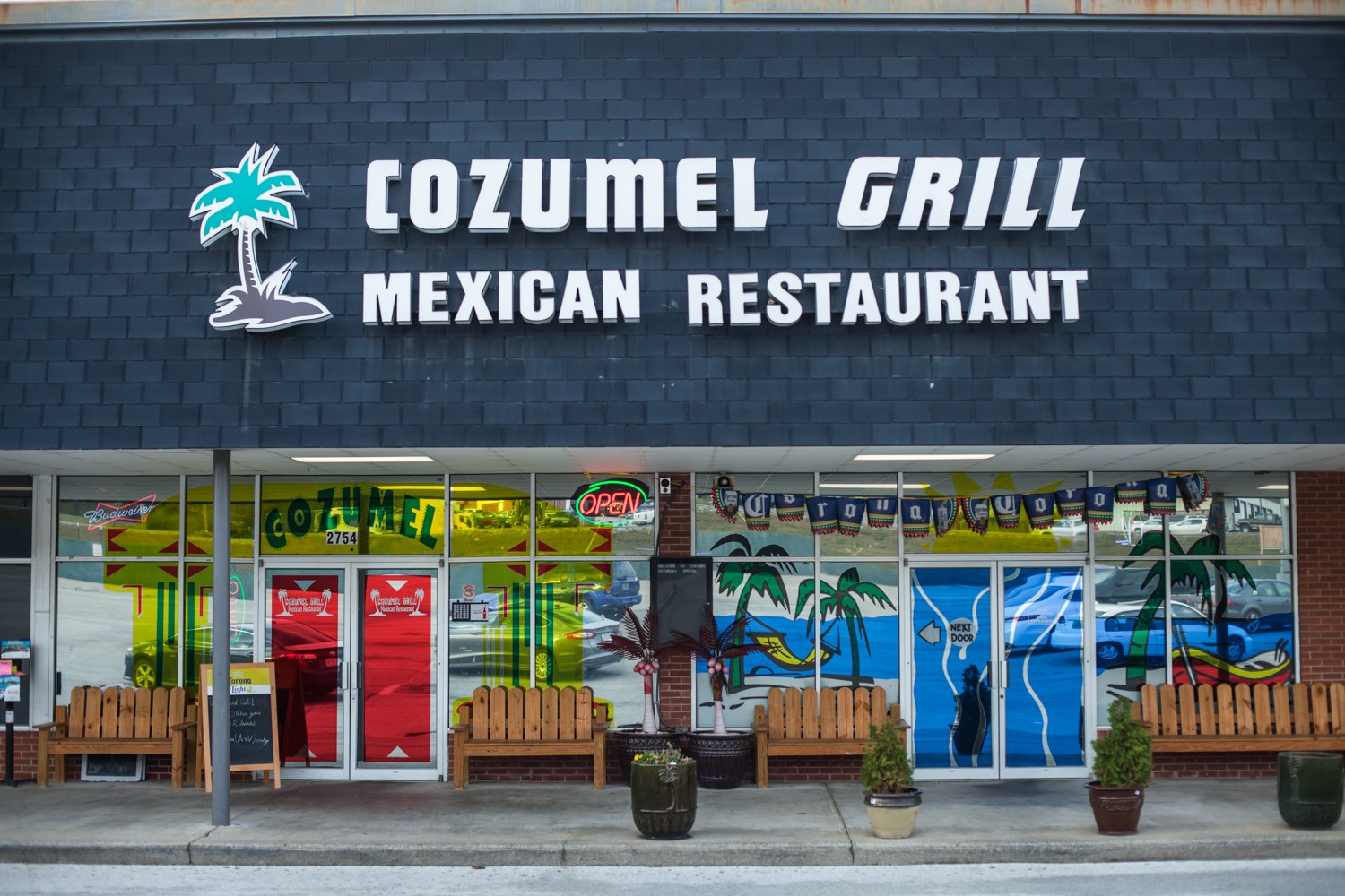 Cozumel Grill Mexican Restaurant exterior storefront