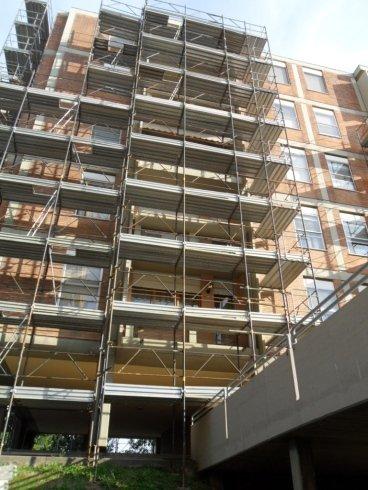 montaggio ponteggi, lavori edili