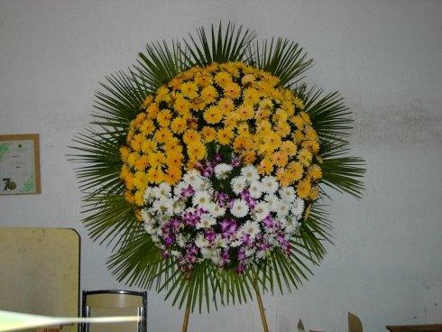 allestimento floreale per funerale