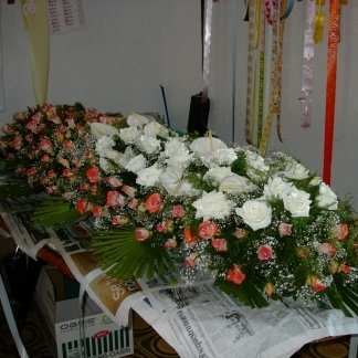 decorazione per cofano funebre