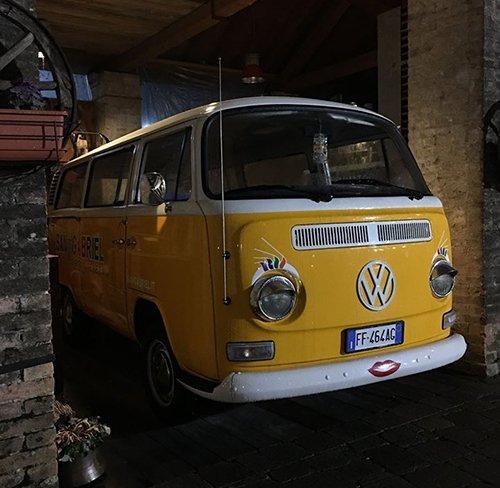 un furgone vintage