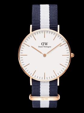 CLASSIC | 36MM GLASGOW ROSE GOLD  Daniel Wellington