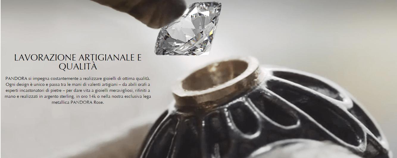 pubblicita diamante pandora
