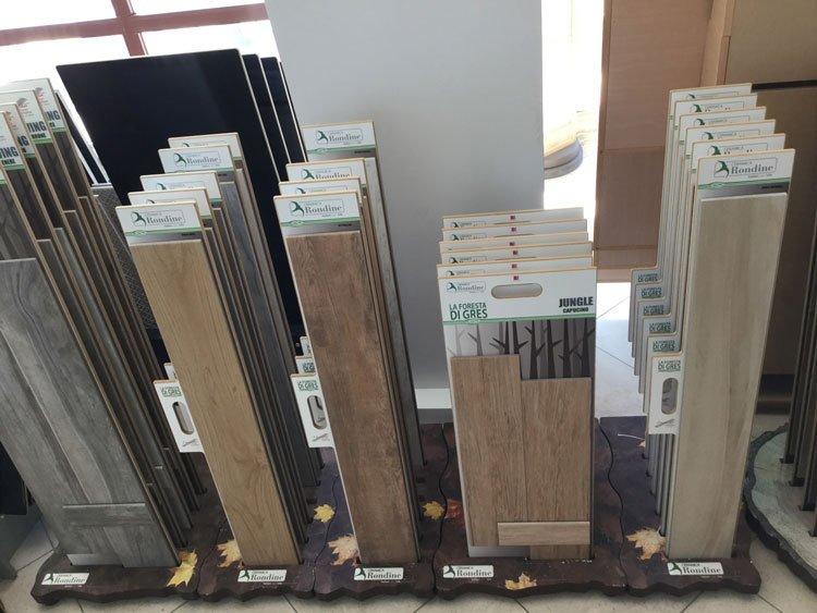 delle liste di legno