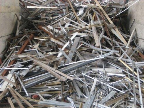 stoccaggio rottami ferrosi