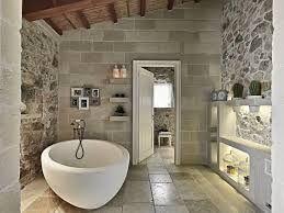 bagno stile rustico
