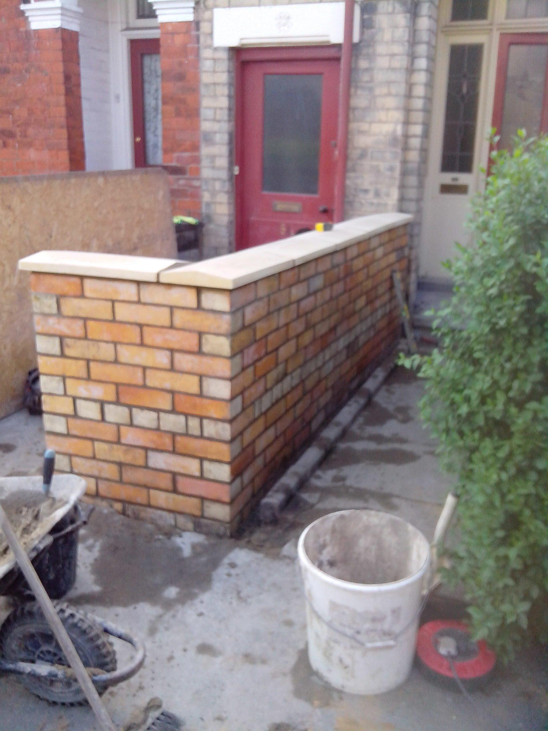 Brick wall constructions