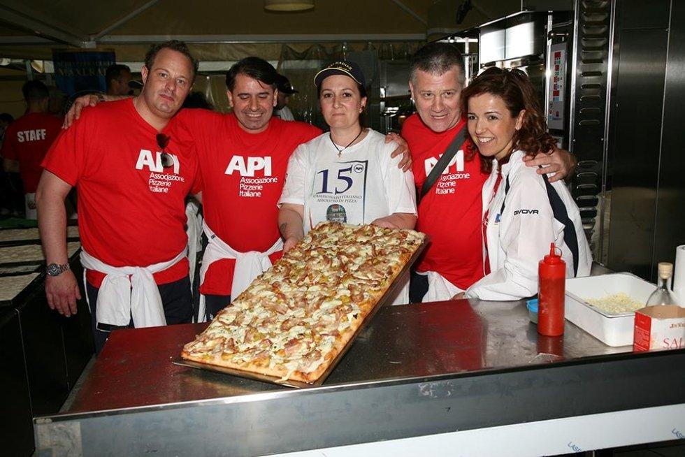 Classificata 1°POSTO del 15° Campionato Italiano Assoluto di Pizza 2015