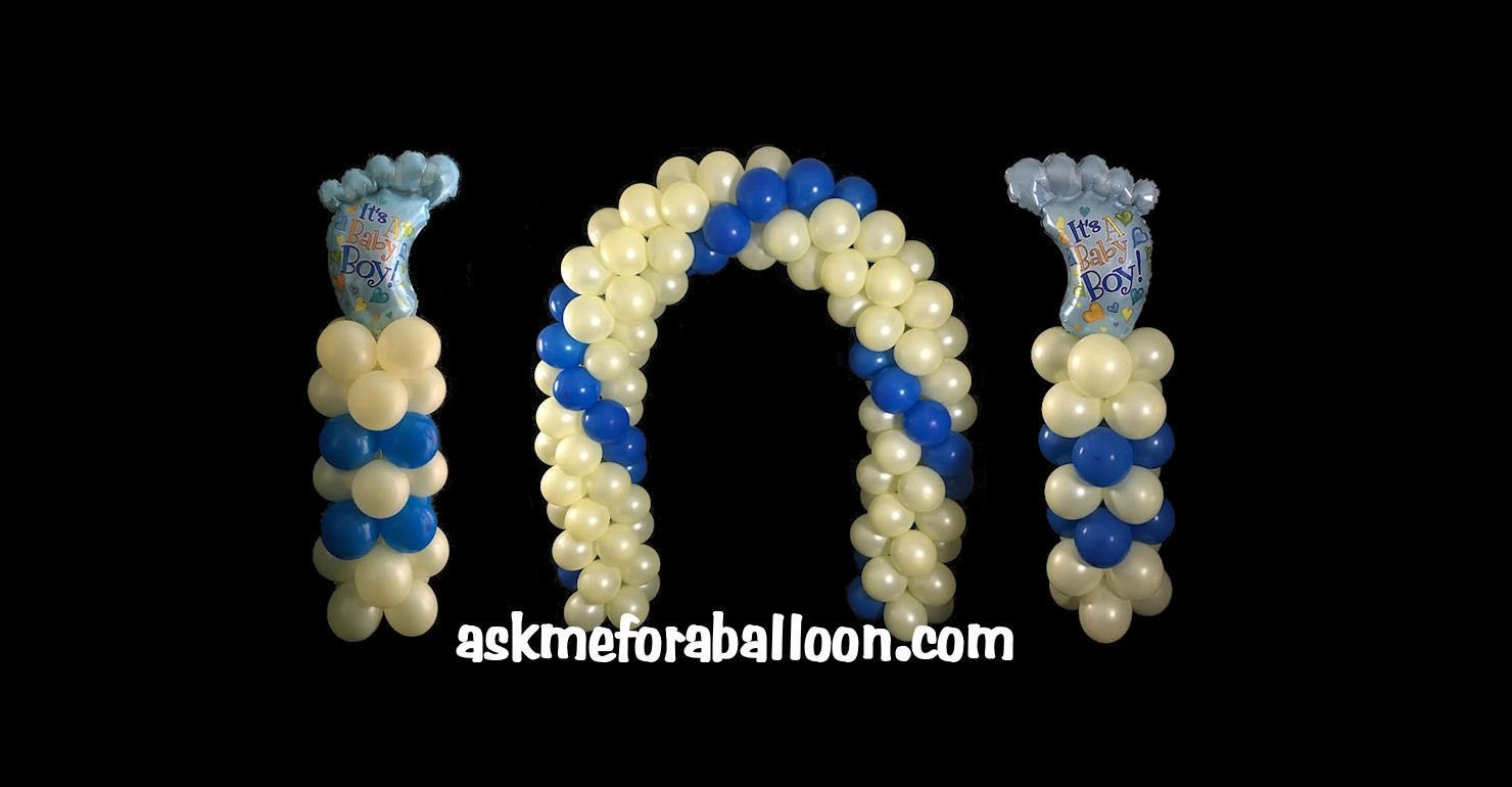 How to make a balloon arch without helium for Balloon arch no helium