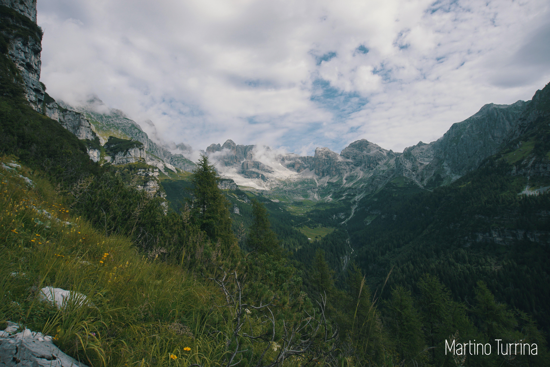 prati in montagna