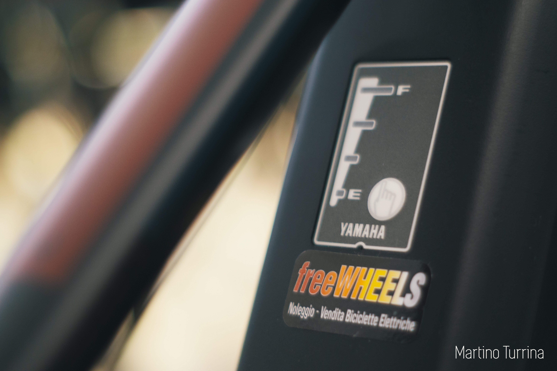 dettaglio immagine su bici