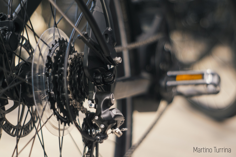 cambio e catena bici
