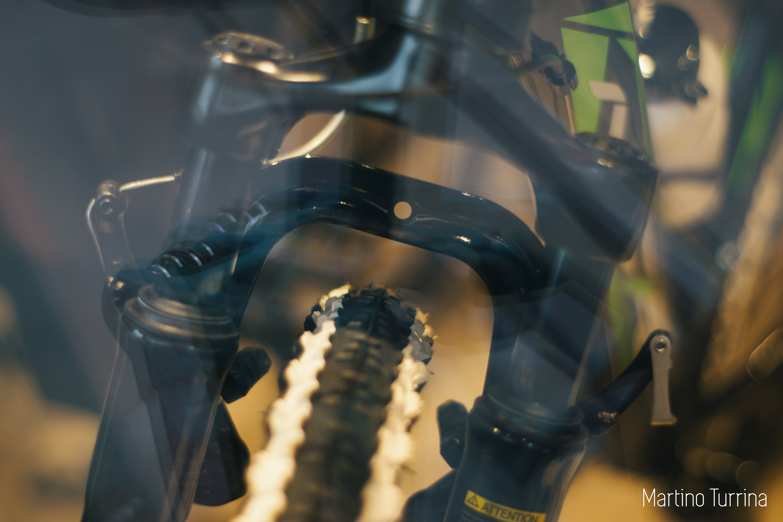 dettaglio ruota bici