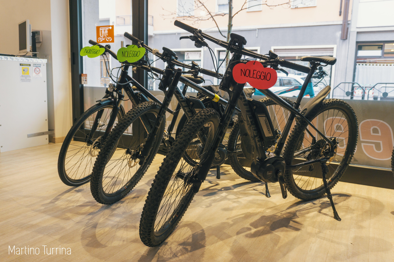 biciclette in negozio