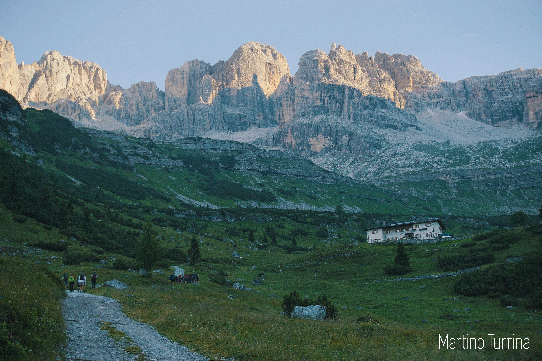 strada in montagna