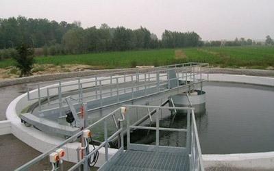 Vasca di depurazione acqua