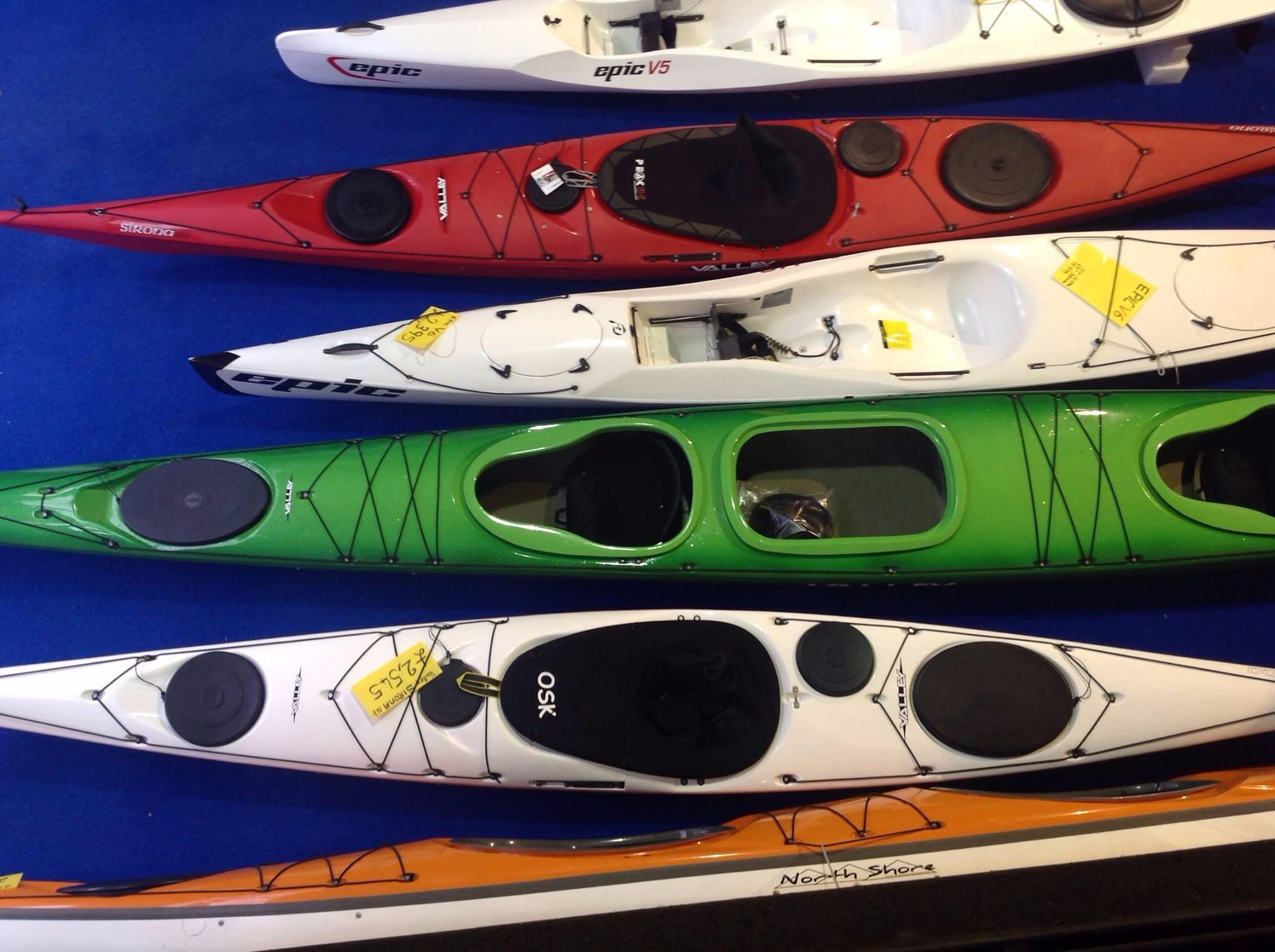 Fiberglass and Plastic Boats Kayaks
