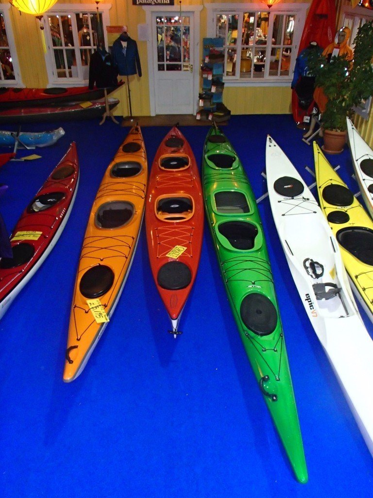 Sea Kayak Oban Now Has The Best Selection Of Double Kayaks In UK