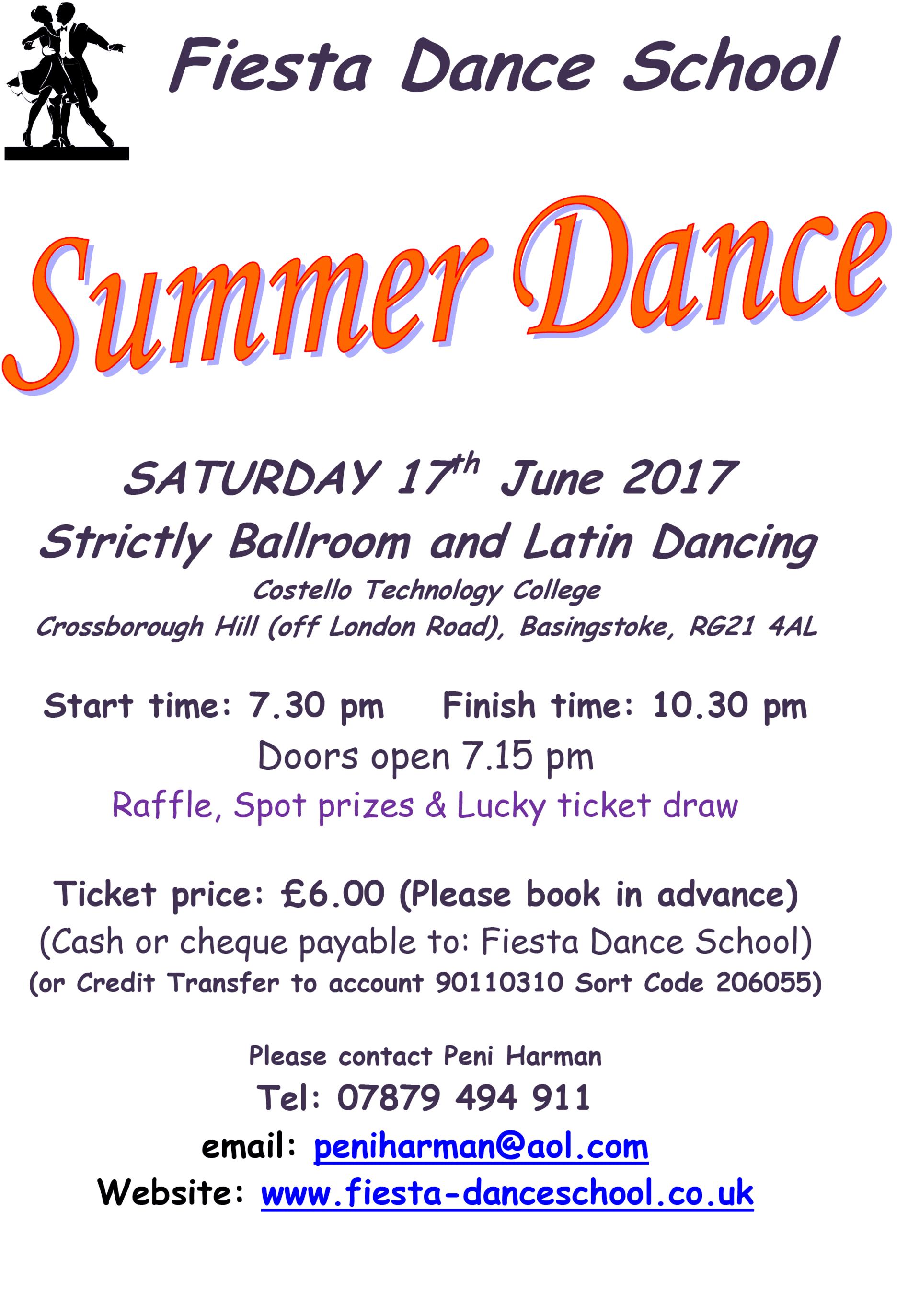 Summer Dance June